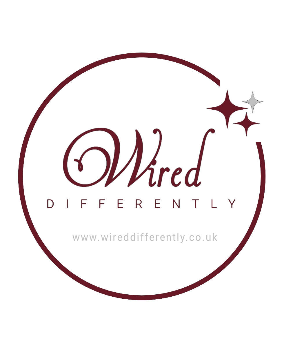 Wired logo red on white